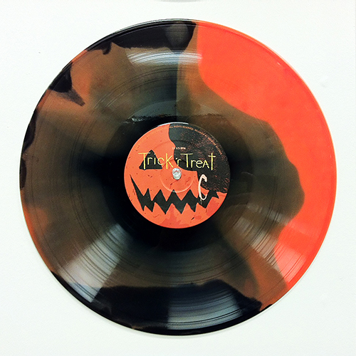TRICK R TREAT vinyl soundtrack 180 gram Black and Orange Swirl