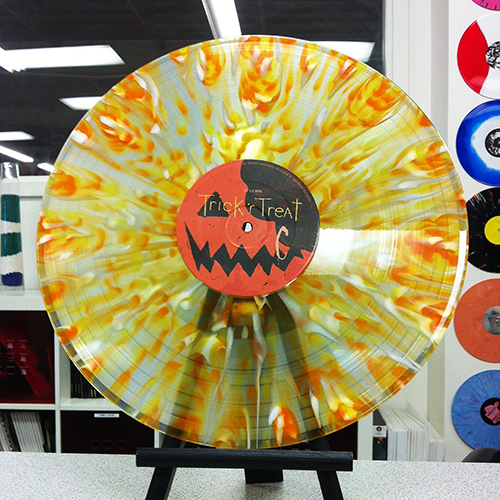 TRICK R TREAT vinyl soundtrack 180 gram Candy Corn Splatter